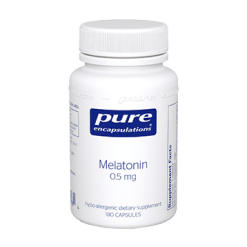 Pure Encapsulations Melatonin 0.5 mg 180 vcaps MEL26