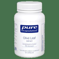 Pure Encapsulations Olive Leaf extract 120 vegcaps OLI15