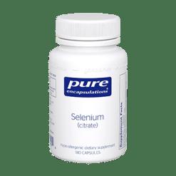 Pure Encapsulations Selenium citrate 200 mcg 180 vcaps SEL17