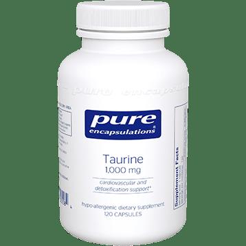 Pure Encapsulations Taurine 1000 mg 120 vcaps TAU18