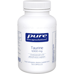 Pure Encapsulations Taurine 1000 mg 120 vcaps TAU18