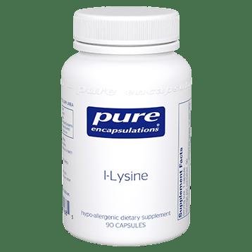 Pure Encapsulations l Lysine 500 mg 90 vegcaps LYS10