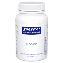 Pure Encapsulations l Lysine 500 mg 90 vegcaps LYS10