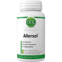 Quality of Life Labs Allersol 60 vegcaps Q454