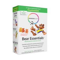 Rainbow Light Nutrition Gummy Bear Essential Multivitamin 30 packets R12002