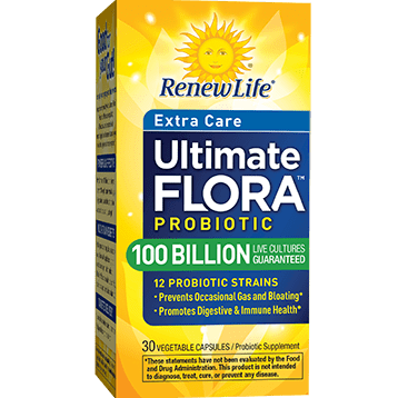 Renew Life Ultra Flora Extra Care 100 Billion 30 capsules R53500