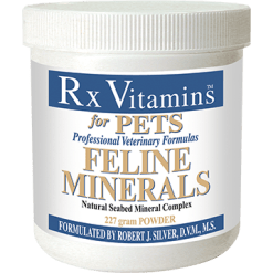 Rx Vitamins for Pets Feline Minerals Powder 227 g FELM