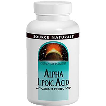 Source Naturals Alpha Lipoic Acid 300mg Timed Rel. 60tab SN1432