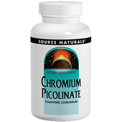 Source Naturals Chromium Picolinate 60 tablets SN0773