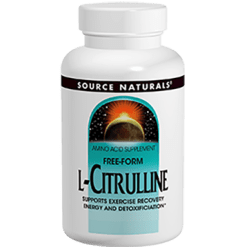 Source Naturals L Citrulline 500 mg 60 caps SN2004