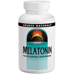 Source Naturals Melatonin 2.5 mg Peppermint 60 tabs SN00846