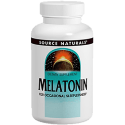 Source Naturals Melatonin 3 mg Timed Release 60 tablets SN0065