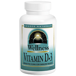 Source Naturals Vitamin D 3 2000 IU 200 caps SN2145