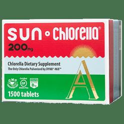 Sun Chlorella USA Sun Chlorella Econ 200 mg 1500 tablets SUA5