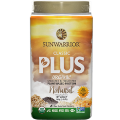 Sunwarrior Classic Plus Natural 30 servings S24196