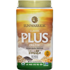 Sunwarrior Classic Plus Vanilla 30 servings S24219