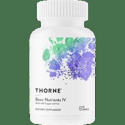 Thorne Research Basic Nutrients IV 180 vegcaps T07067