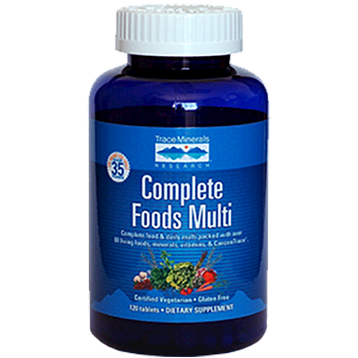 Trace Minerals Research Complete Foods Multi 120 tablets T00386