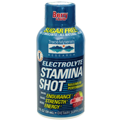 Trace Minerals Research Electrolyte Stamina Shot 2 fl oz T100258