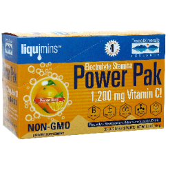 Trace Minerals Research Power Pak Orange Blast 30 packets T00539
