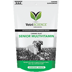 Vetri Science Canine Plus Senior Dog Multi 30 chews V25694