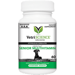 Vetri Science Canine Plus Senior Multi 60 tabs V27186