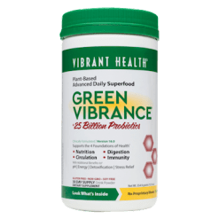 Vibrant Health Green Vibrance 30 Servings VB0015