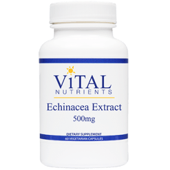 Vital Nutrients Echinacea Extract 500 mg 60 vcaps ECH19