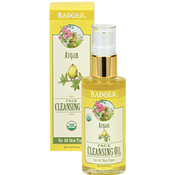 W.S. Badger Company Argan Face Cleansing Oil 2 fl oz B70044