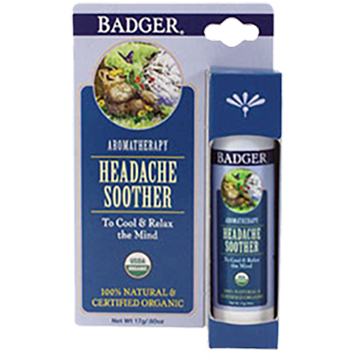 W.S. Badger Company Headache Soother Stick 0.60 oz B80436