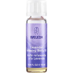 Weleda Body Care Lavender Body Oil Travel 0.34 fl oz LAV22
