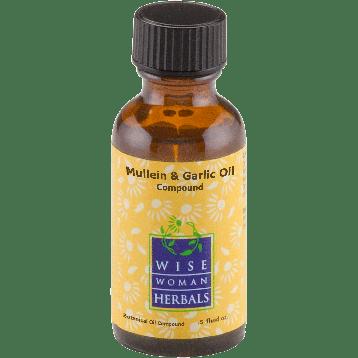 Wise Woman Herbals Mullein amp Garlic Oil Compound 1 2 oz MUL41