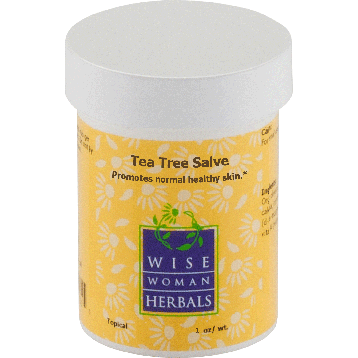 Wise Woman Herbals Tea Tree Salve 1 oz TEA6