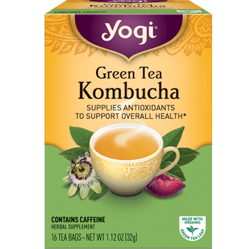 Yogi Teas Green Tea Kombucha 16 bags Y45021