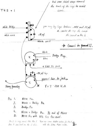 Mod Garage: The Bill Lawrence 5way Telecaster Circuit
