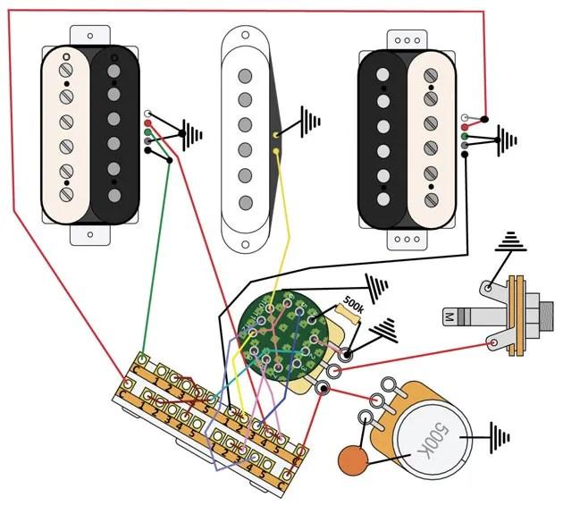 mod garage stratprs crossover wiring  premier guitar
