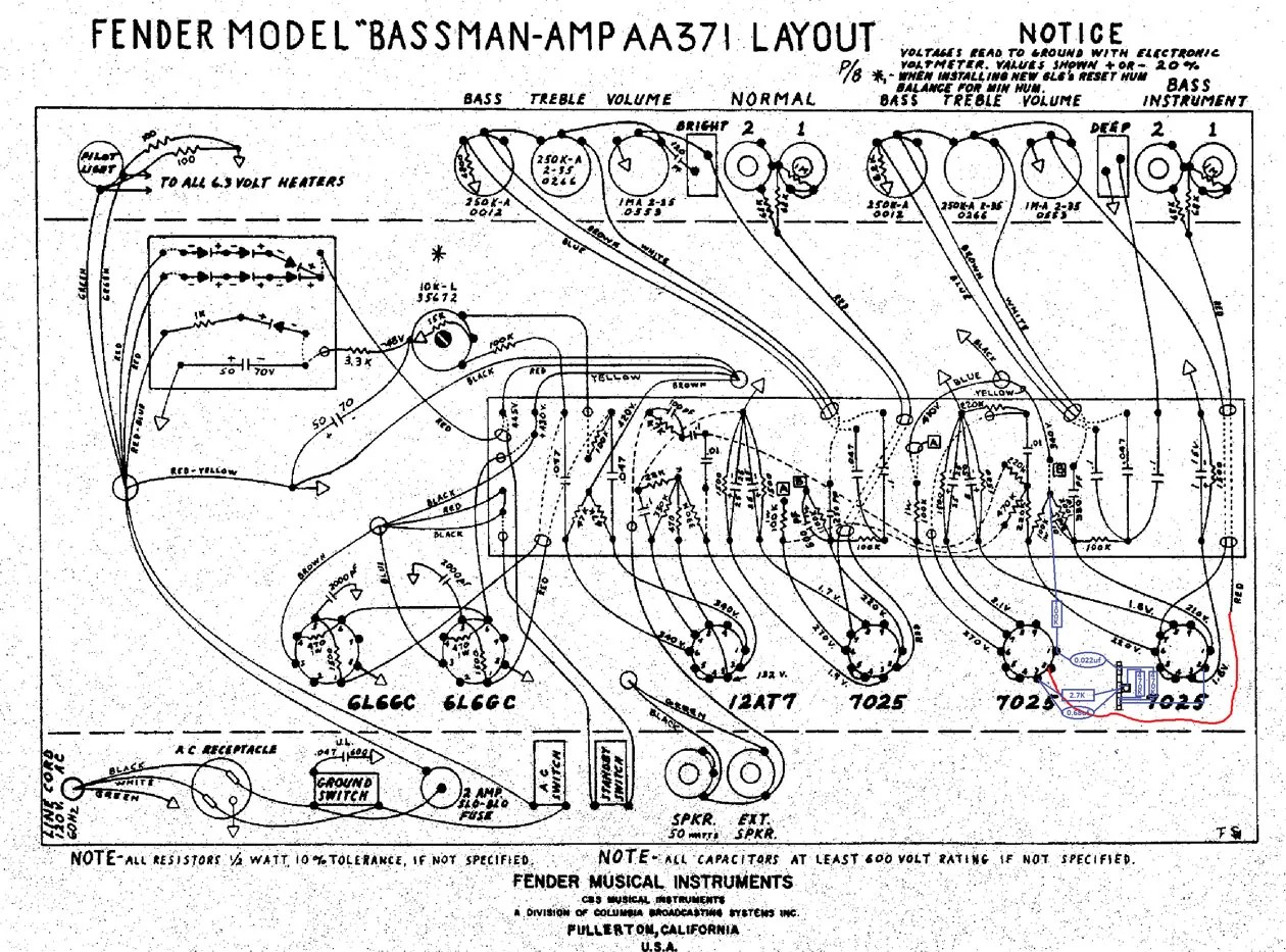 Base Guitar Wiring