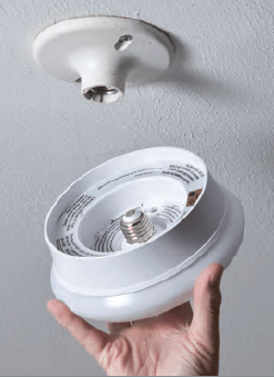 7 Quot Led Spin Light Round Flushmount Fixture 54606143