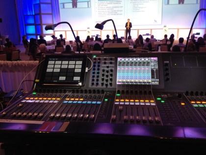 Yamaha CL5 audio console