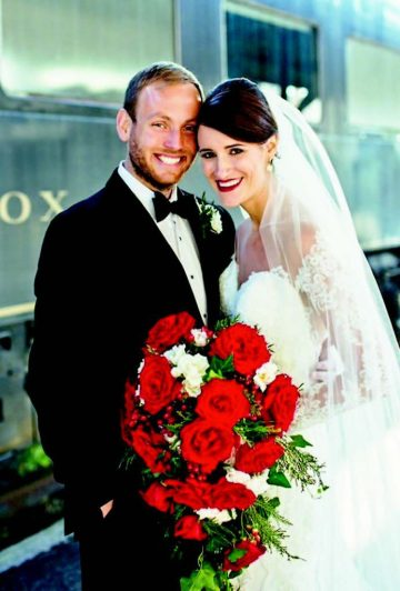 Joshua and Kelsey Reese married a couple of months after his thyroid cancer surgery withe Dr. Troy Kimsey at Fort Sanders Regional Medical Center.