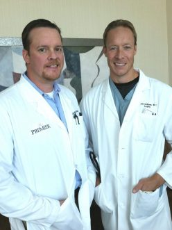 Brothers Dr. Kristopher B. Williams and Dr. K. Robert Williams are both general surgeons at Premier Surgical Associates in Knoxville.