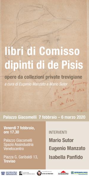 "Libri di Comisso – Dipinti di de Pisis"""