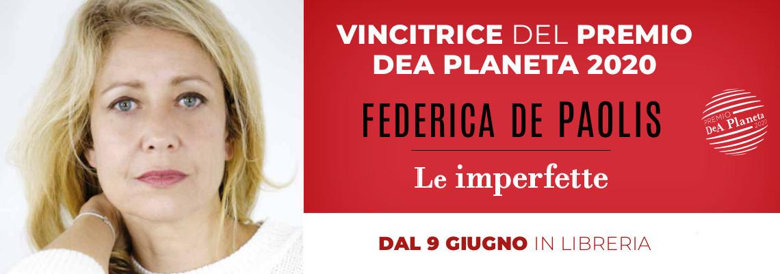 Federica De Paolis ha vinto il premio DeA Planeta 2020