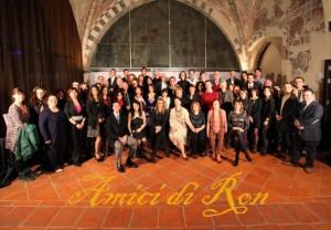 © tutti i diritti riservati. Fondazione Amici di Ron. Fortezza Viscontea Cassano d'Adda - Foto di R.Baroni) Finalisti della seconda edizione del Premio Nazionale Amici di Ron.