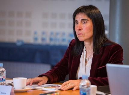 """Nekane Balluerka: """"Son un estímulo para que la empresa siga comprometiéndose con los y las jóvenes"""""""
