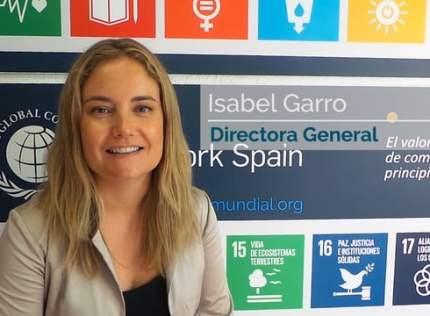 Isabel Garro: «Desde Pacto Mundial es muy satisfactorio apoyar este tipo de iniciativas»