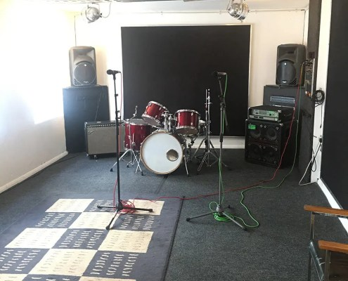 Small rehearsal studio 6