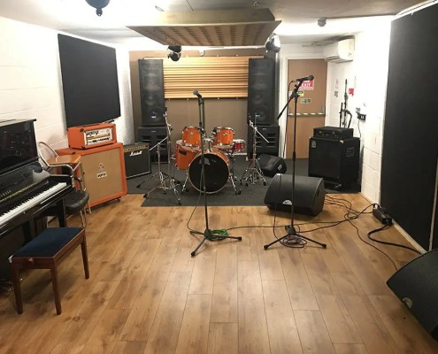 Rehearsal studio central London