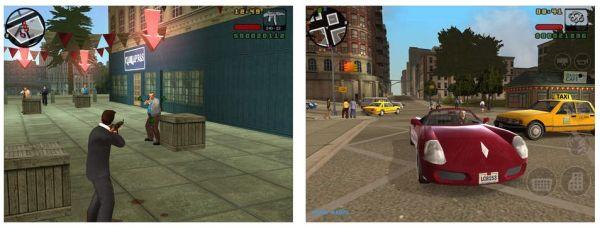 GTA Liberty City ist zwar schon 10 Jahre alt, wurde aber doch sehr deutlich überarbeitet und für Mobilgeräte angepasst. Nebenbei: Android-Nutzer müssen sich noch gedulden, denn das Spiel ist vorerst nur für iOS veröffentlich worden.