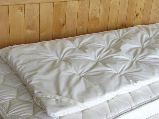 Premium Eco Wool Baby Crib Mattress Topper